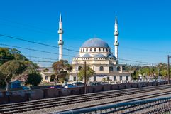 Mosquée auburn de Gallipoli dans la banlieue de Sydney Images stock