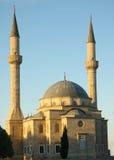 Mosquée avec deux minarets Images stock