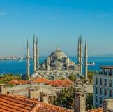 Mosquée bleue à Istanbul Photo stock