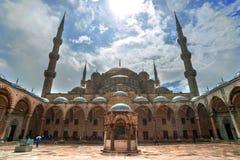 Mosquée bleue Photographie stock