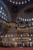 Mosquée bleue intérieure Photo libre de droits