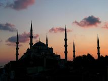 Mosquée bleue, Istanbul Images stock