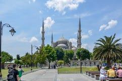 Mosquée bleue, Istanbul Turquie Photographie stock libre de droits