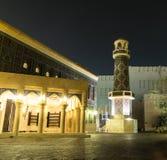 Mosquée bleue la nuit Images libres de droits