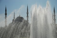 Mosquée bleue (Sultan Ahmet Cami), Istanbul, Turquie photographie stock libre de droits