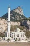Mosquée chez le Gibraltar Image stock