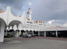 Mosquée d'état de Perak dans Ipoh, Perak, Malaisie images libres de droits