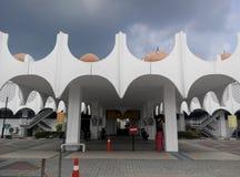 Mosquée d'état de Perak dans Ipoh, Perak, Malaisie image libre de droits