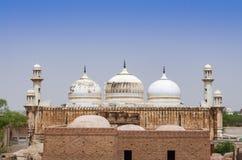 Mosquée d'Abbasi Jamia près de fort Bahawalpur Pakistan de Derawar photo stock