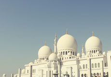 Mosquée d'Abu Dhabi Sheikh Images stock