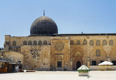 Mosquée d'Al-Aqsa Images libres de droits