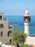 Mosquée 2011 d'Al-Bahr de Jaffa Images libres de droits