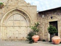 Mosquée d'Al-siksik de Jaffa la partie plus inférieure 2012 Image libre de droits