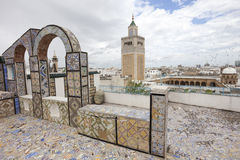 Mosquée d'Al-Zaytuna Photos stock