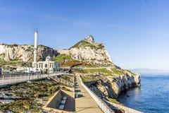 Mosquée d'Ibrahim-Al-Ibrahim au Gibraltar, territo d'outre-mer britannique photographie stock