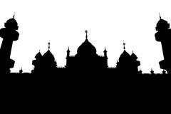 Mosquée d'isolat Photographie stock