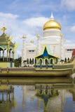 Mosquée d'Omar Ali Saifuddien de sultan, Brunei images libres de droits