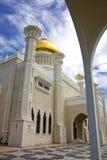 Mosquée d'Omar Ali Saifuddien de sultan, Brunei image libre de droits