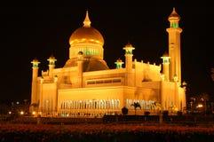 Mosquée d'Omar Ali Saifuddin Images libres de droits