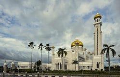 Mosquée d'Omar Ali Saifuddin de sultan image stock