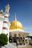 Mosquée d'Ubudiah chez Kuala Kangsar, Perak Image stock
