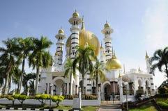Mosquée d'Ubudiah chez Kuala Kangsar, Perak Photographie stock libre de droits