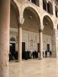 Mosquée d'Umayyad à Damas, Syrie images libres de droits