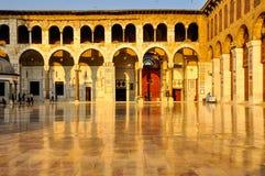 Mosquée d'Ummyad à Damas, Syrie image libre de droits