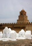 Mosquée dans Kairouan Image libre de droits