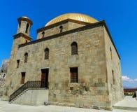Mosquée dans le château de Rabati Images libres de droits