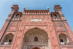 Mosquée de Badshahi Photographie stock libre de droits