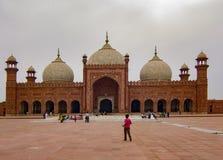 Mosquée de Badshahi, Lahore, Pakistan photos libres de droits