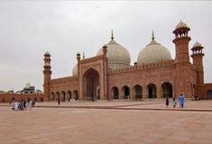 Mosquée de Badshahi, Lahore, Pakistan photo libre de droits