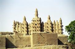 Mosquée de boue, Sirimou, Mali Photographie stock libre de droits