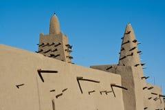 Mosquée de brique de boue, Timbuktu. Image libre de droits