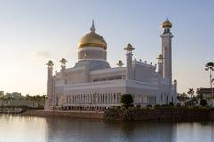 Mosquée de canalisation du Brunei Image libre de droits