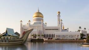 Mosquée de canalisation du Brunei Photos stock
