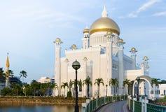 Mosquée de canalisation du Brunei images libres de droits