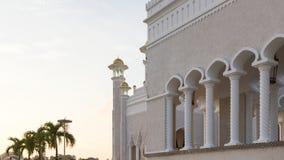 Mosquée de canalisation du Brunei Photos libres de droits