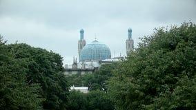 Mosquée de cathédrale à St Petersburg banque de vidéos