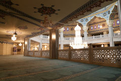 Mosquée de cathédrale de Moscou (intérieure), Russie -- la mosquée principale à Moscou, nouveau point de repère images stock