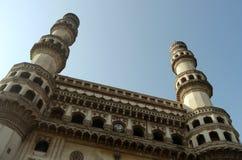 Mosquée de Charminar, Hyderabad Photographie stock libre de droits