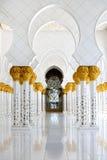 Mosquée de cheik Zayed Photo stock