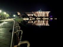 Mosquée de fer de Putrajaya image stock