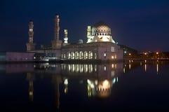 Mosquée de flottement Images libres de droits