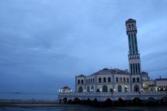 Mosquée de flottement de Penang Images libres de droits
