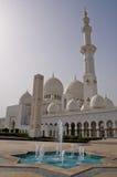 Mosquée de gran de l'Abu Dhabi Images libres de droits