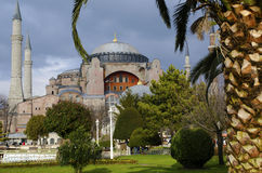 Mosquée de Hagia Sophia (Aya Sofia) Image stock