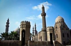 Mosquée de HASSAN de sultan d'EL Images stock