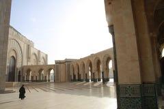 Mosquée de Hassan II à Casablanca, Maroc Images libres de droits
